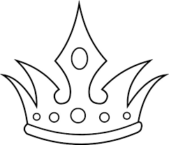 queen crown coloring pages netart