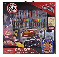 disney pixar cars 3 deluxe coloring activity toys
