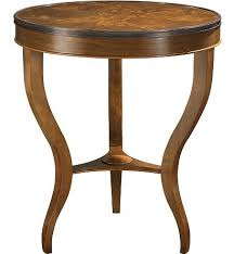 hickory chair side tables east paces side table with wood top from the suzanne kasler