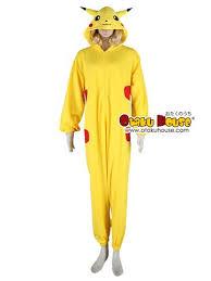 Halloween Costumes Pikachu Pok Mon Cosplay Costume Pikachu Onesie U2013 Otaku House