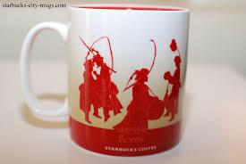 korea starbucks city mugs