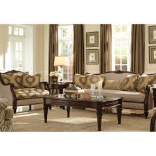 Michael Amini Furniture 3 998 00 Villagio Wood Trim Sofa Set By Michael Amini 2 Pc D2d