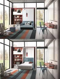 canapé lit gain de place lit gain de place lit escamotable et canapé convertible pour petit
