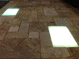 Patio Paver Lights Recycled Glass Paver Lights Cool Connect To Your Low Voltage