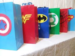 party city halloween treat bags super hero goody bags make them at home u0026 bring them to the park