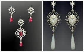 diamond earrings india jewelorigins indian designer gold and diamond jewellery indian