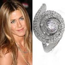 aniston wedding ring this is stunning it kinda looks like a seashell