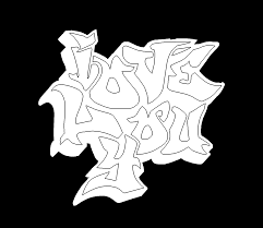 graffiti word coloring pages free coloring pages of word love