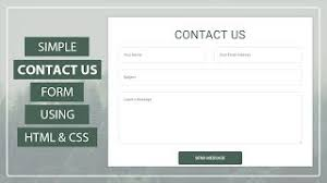 design form using php create working contact form using html css php contact form