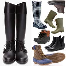 stylish motorcycle boots twelve pairs of ladies u0027 rain boots cool hunting