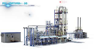 modular unit mu optima units production series 50 250 th tons per year is