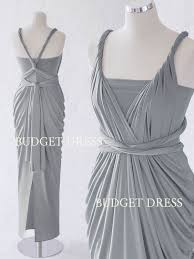 light grey infinity dress light ash grey convertible dress mix and match bridesmaid