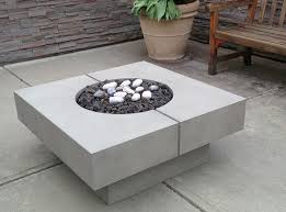 Fire Pit Glass Stones modern square fire table with lava rocks grande as well as