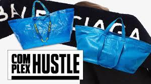 would you buy balenciaga u0027s new 2 000 u0027ikea u0027 tote bag youtube