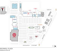 Kfc Floor Plan by Oklahoma City Ok Rockwell Plaza Retail Space Inventrust