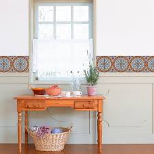Kitchen Decals For Backsplash by Paving Pattern Tiles Stickers Set Of 4 Tiles Tile Decals Art