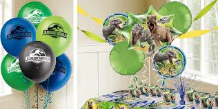 Jurassic Park Decorations Jurassic World Balloons Party City