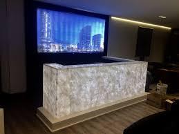 Black Onyx Countertops Lighting Onyx Marble Walls And Countertops Using Led Lighting