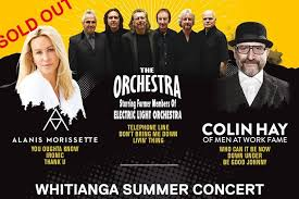 Electric Light Orchestra Telephone Line All About Whitianga Whitianga Summer Concert 2018 Music