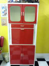 1960s kitchen cabinets painted updating metal remodeled remodeling