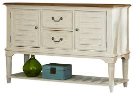 Sideboard And Buffets by Dining Room Server Weathered Sand And White Farmhouse Buffets