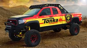 yellow toyota truck toyota tonka tundra is a grown up toy done right
