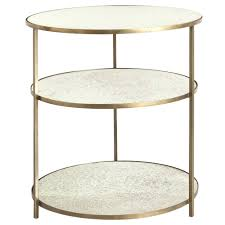 sidetable 30 cm diep 30 tall side table olivia 30 round mirrored