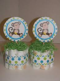 monkey centerpieces for baby shower peaceful design monkey centerpieces baby shower on artfire