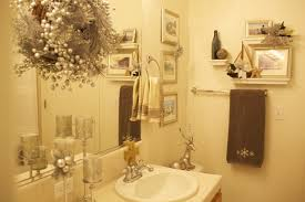 how to decorate a guest bathroom bathroom christmas decoration easy to apply ideas this year on