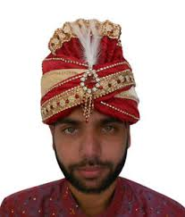indian wedding groom men hat indian wedding groom pagri handmade turban maroon pag safa
