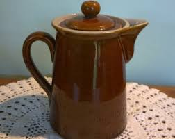 Denby Vase Pottery Bourne Denby Etsy