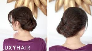 Long Hairstyles Easy Updos by Easy Everyday Updo Youtube