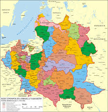 russia map before partition what is the term for the belorussian area east poland west