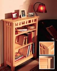Arts And Craft Bookcase Building An Arts And Crafts Style Bookcase Project Rockler How To
