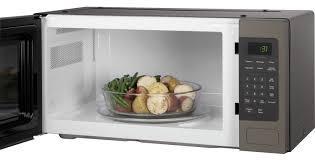 ge profile slate countertop microwave oven pem31efes