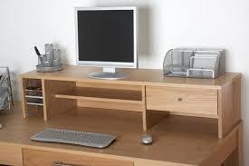 alphason oakwood desktop storage hutch aw6324 h