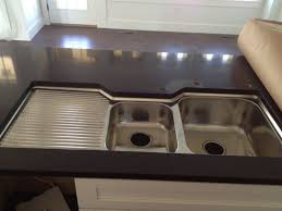 Cute Stainless Steel Kitchen Sinks With Drainboard Single Bowl - Home depot kitchen sinks
