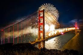 golden gate bridge 75th anniversary celebrated with massive