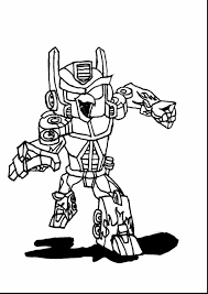 Outstanding Bumblebee Coloring Pages Transformers With Bumblebee Transformer Color Page