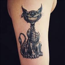 22 awesome cheshire cat tattoos catster