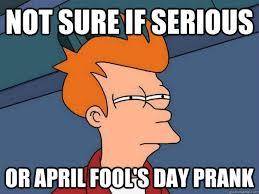 Funny April Fools Memes - april fools day 2016 memes