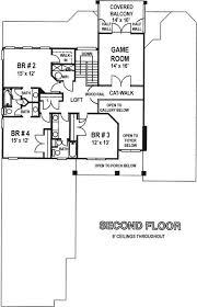 Game Room Floor Plans 5 Bedroom 4 Bath Southern House Plan Alp 099w Allplans Com