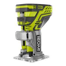Home Depot Price Match Online by Ryobi 18 Volt One Trim Router Bare Tool P601 The Home Depot