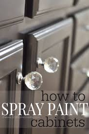 Spray Paint Cabinet Doors 37 Spray Painting Tips From The Pros Diy