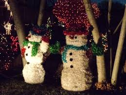 Outdoor Christmas Yard Decorations by Christmas Snowmen Holiday Yard Decorations Picture Free
