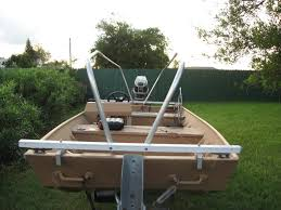 Duck Boat Blind Pictures Duck Hunting Chat U2022 Finished My Boat Blind Frame Waterfowl Boats