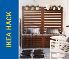 ikea bench hack awesome ikea hack of the week an apartment sized patio bench and