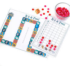 it u0027s a zoo a counting and graphing game for preschoolers