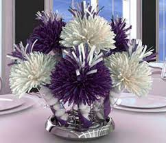 White Centerpieces Party Favors And Centerpieces Wedding Favors And Decorations For