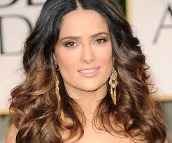 dark hair underneath light on top dark brown hair with highlights underneath salma hairstyle 30